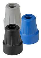 Резиновый наконечник для трости и костылей 19 мм с металлической вставкой