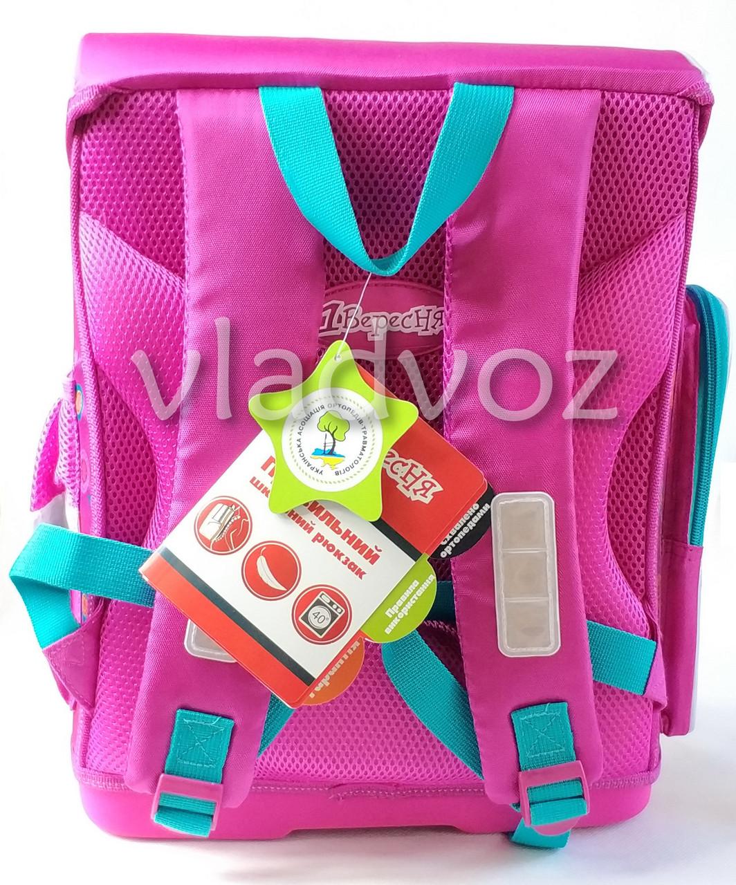 Школьный рюкзак сова сиреневый