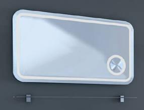 Зеркало с подсветкой и полочкой RIMINI RmМ-100 Botticelli Ювента