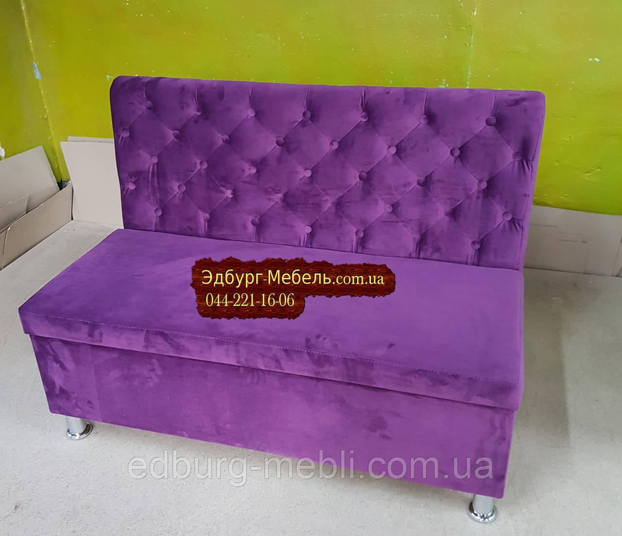 """Двомісний диван для кухні """"Ренесанс"""" з ящиком"""