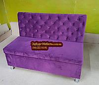 """Двомісний диван для кухні """"Ренесанс"""" з ящиком, фото 1"""