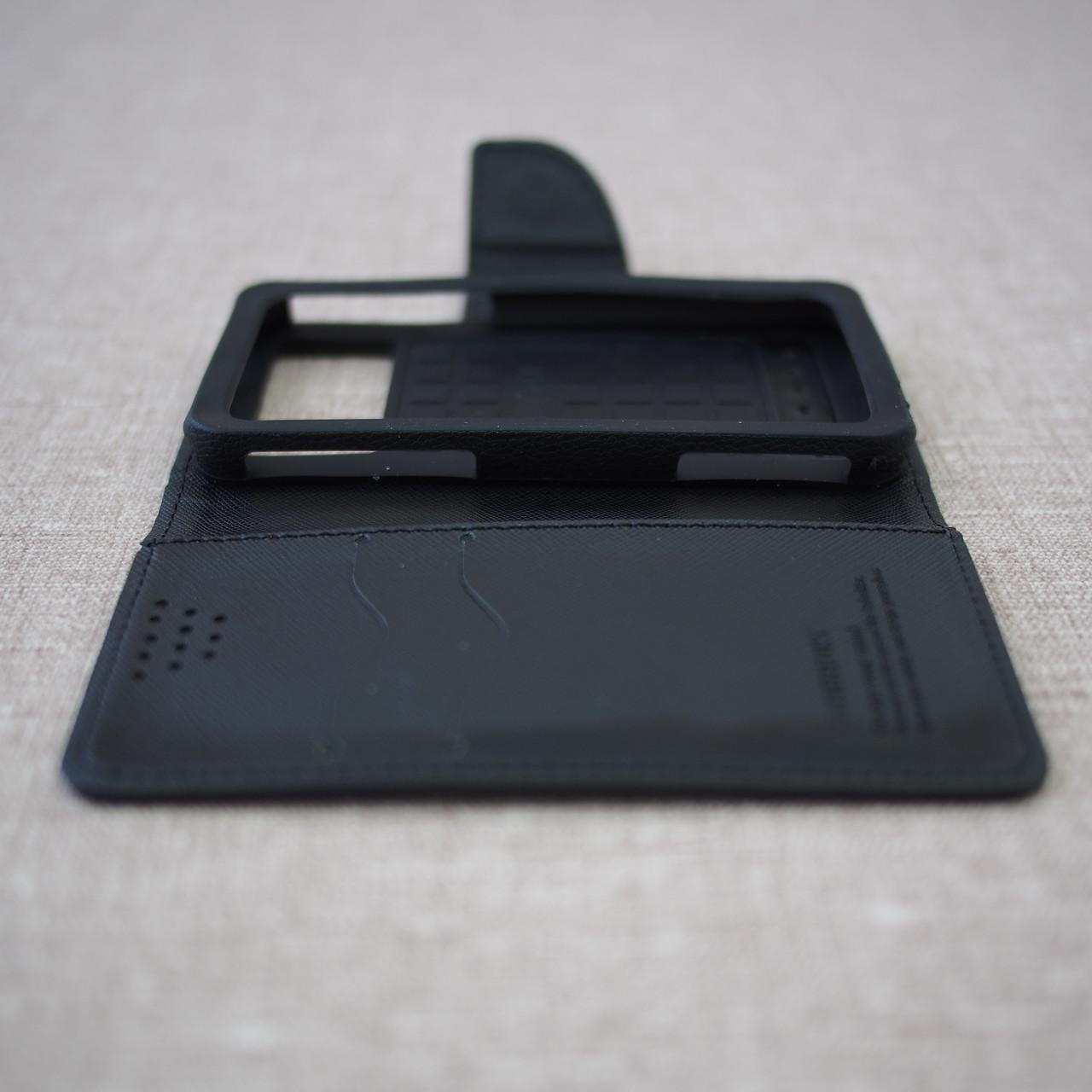Чехлы для других смартфонов Goospery Fancy Diary Universal 4.3 black Для телефона