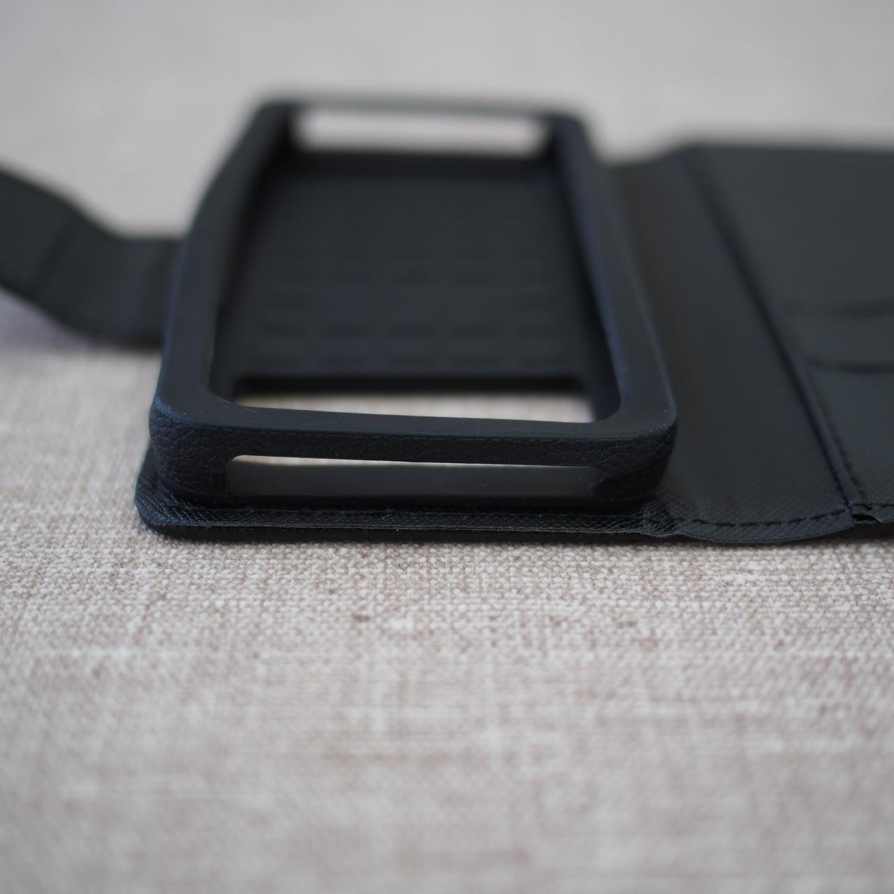Чехол Goospery Fancy Diary Universal 4.3 black Для телефона Черный