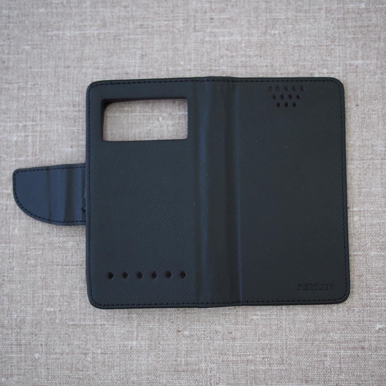 Чехол Goospery Fancy Diary Universal 4.3 black