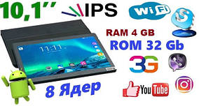 ПЛАНШЕТ Samsung TAB 10,1 KT990 4GB/32GB, IPS Android 6