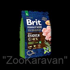 Сухой корм для собак Brit Premium Adult XL, 15 кг