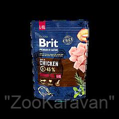Сухой корм для пожилых собак крупных и гиганских пород Brit Premium Senior L+XL, 15 кг