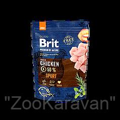 Сухой корм для собак с повышенной активностью Brit Premium Sport, 15 кг