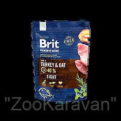 Сухой корм для собак склонных к полноте Brit Premium Light, 15 кг