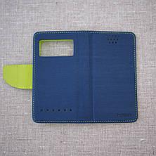 Чехол Goospery Fancy Diary Universal 4.3 blue, фото 3