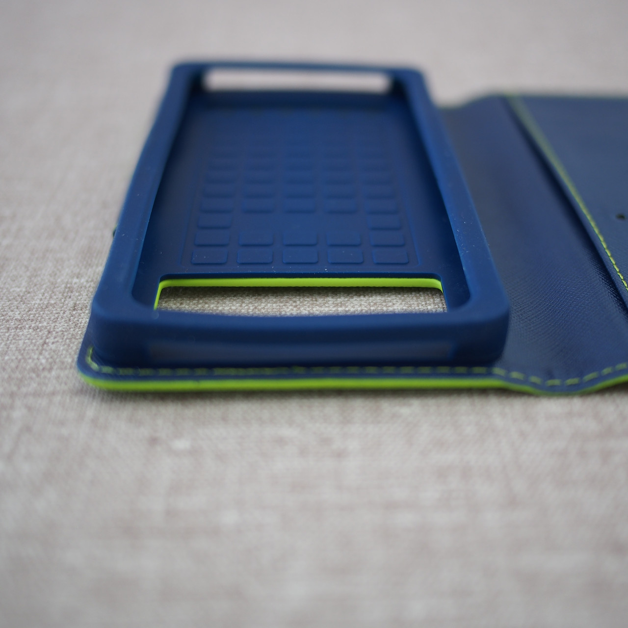 Goospery Fancy Diary Universal 5.2 green Для телефона Зеленый
