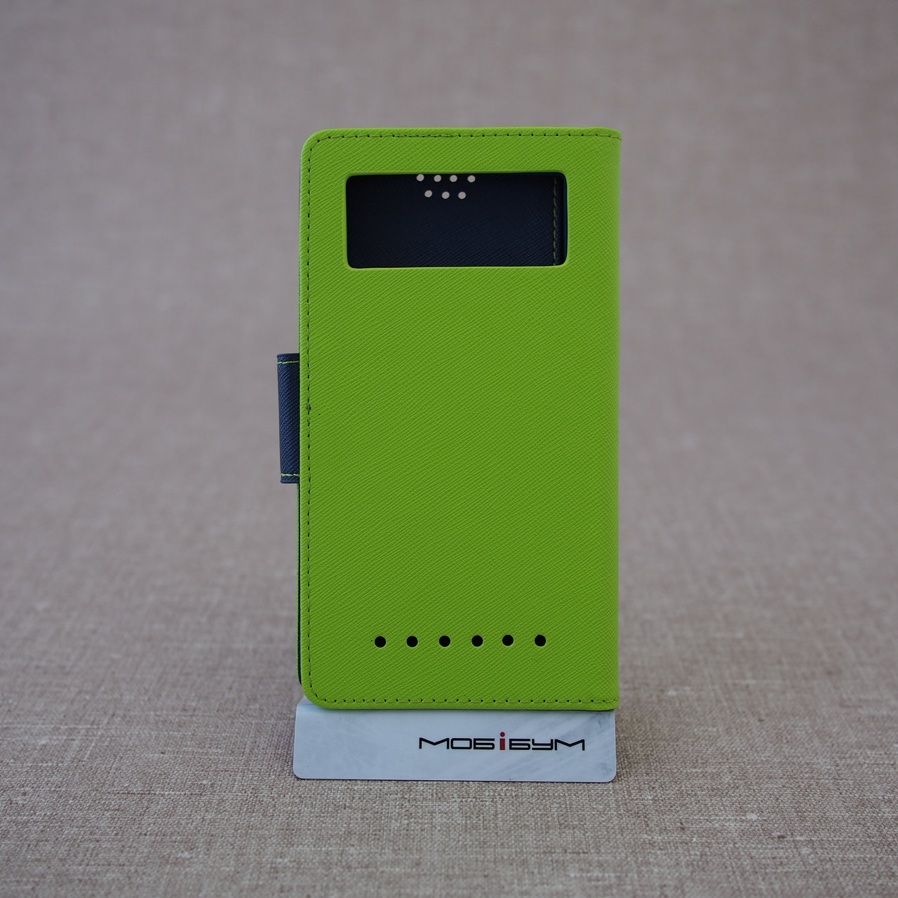 Чехлы для других смартфонов Goospery Fancy Diary Universal 5.2 green Для телефона Зеленый