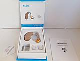 Улучшенный слуховой аппарат Axon B-13 и 10 батареек в комплекте, фото 4
