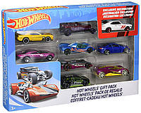 Набор машинок Хот Вилс 9 шт в ассортименте Hot Wheels 9-Car Gift Pack (Styles May Vary)