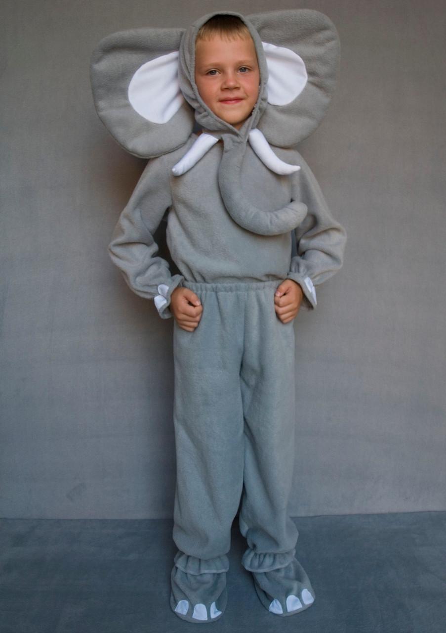 Маскарадный костюм для мальчика Слоник 3-6 лет