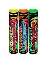 Цветной дым, набор из 3-х дымов, три цвета, 50 сек.