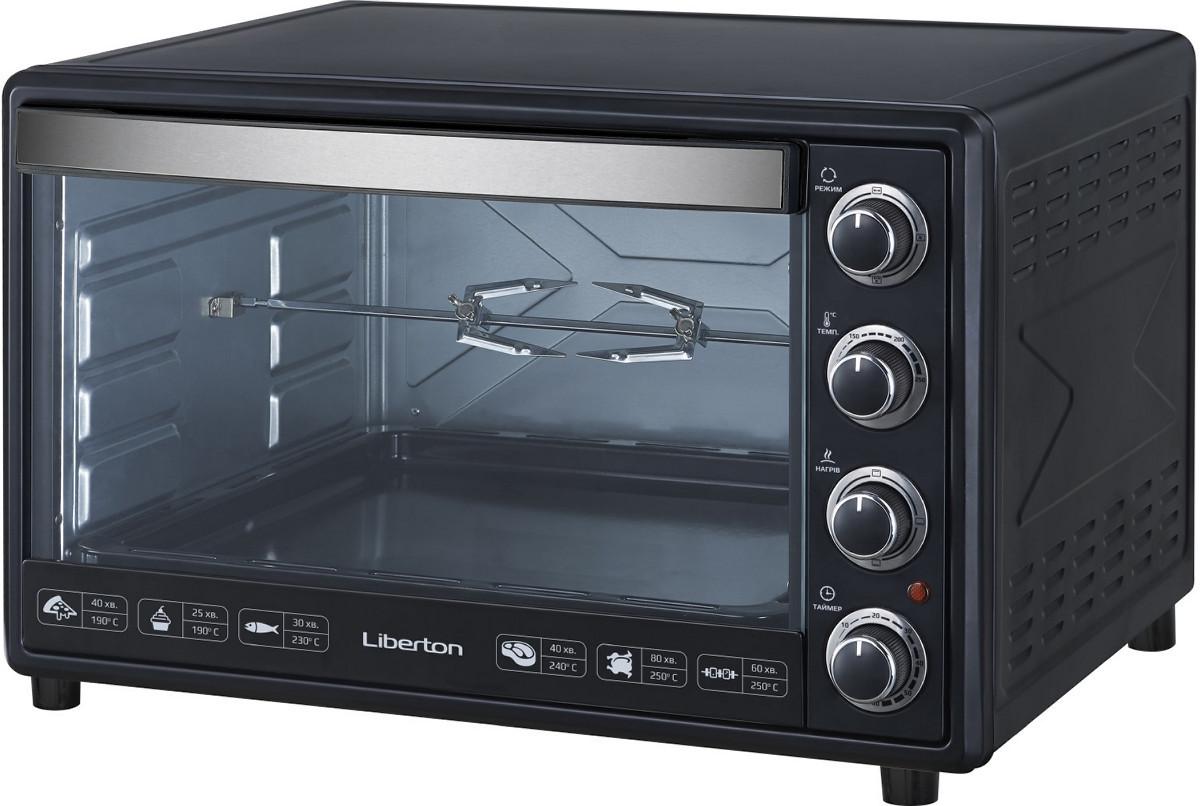 Электродуховка LIBERTON LEO-650 Black