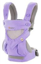 Эрго рюкзак Ergo baby 360 с сеткой Сиреневый
