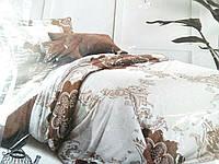 Евро постельное белье из ранфорса, 723/623 (цена за 1 шт. + 100 гр.)