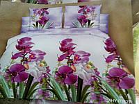 Качественное постельное белье из ранфорса, семейное, 847/747 (цена за 1 шт. + 100 гр.)