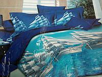 Хлопковое постельное белье из хлопковой ткани (ранфорс), евро, 723/623 (цена за 1 шт. + 100 гр.)