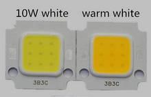 Світлодіод (приблизно 10Вт, харчування 9-12V) БІЛИЙ ТЕПЛИЙ