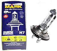 Лампа H7 24V70W галогенная (Маяк)