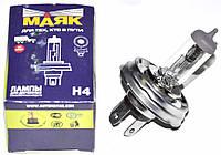 Лампа H4 12V 100/90W E1 галогенная обычный цоколь (P 45t ) (Маяк)