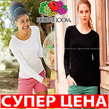 ФУТБОЛКА С ДЛИННЫМ РУКАВОМ LADY-FIT