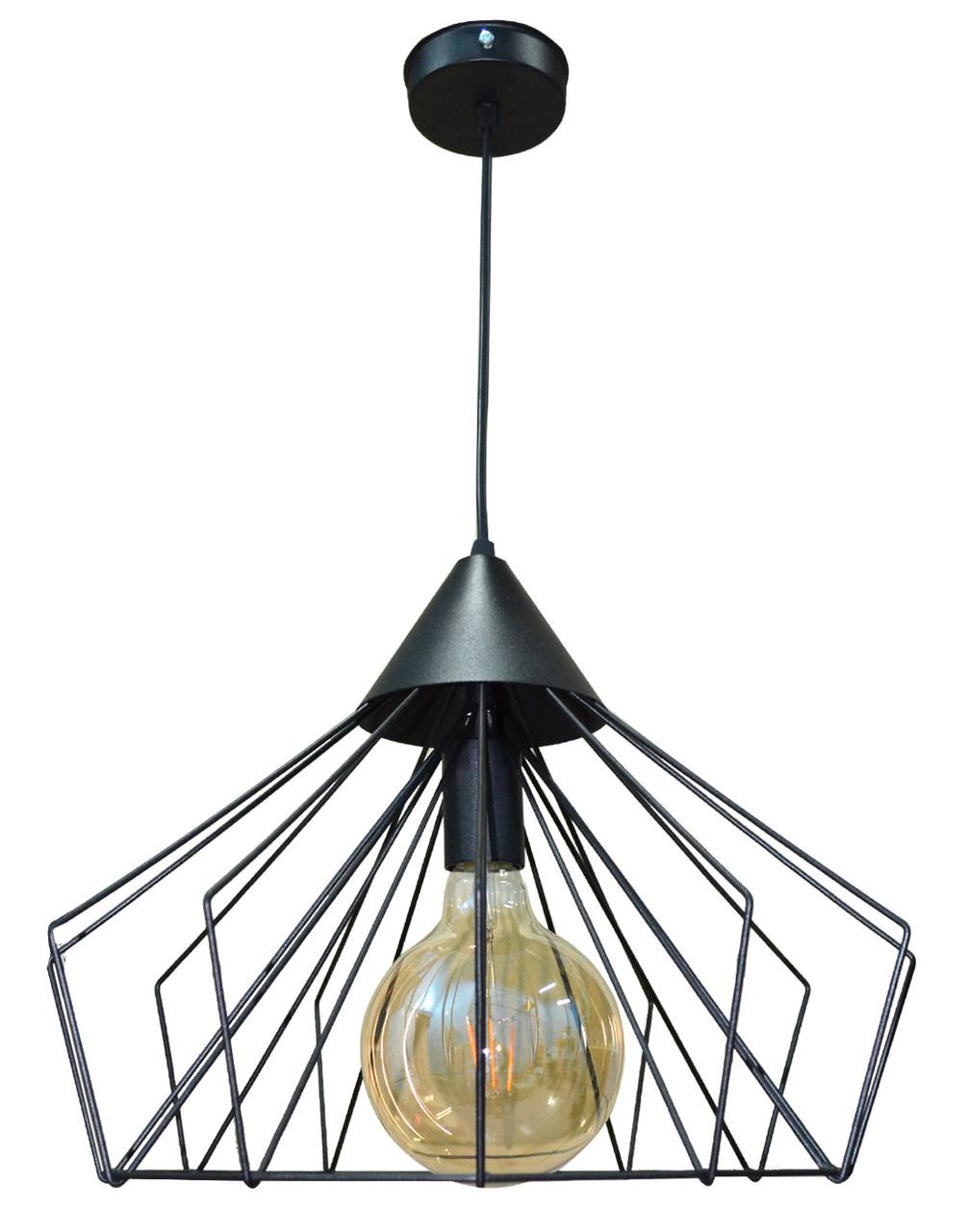 Светильник LOFT E27 400*150мм металл NL0540 (черный) УКРАИНА