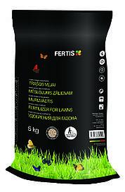 Весняне добриво для газону Fertis без хлору та нітратів 5 кг