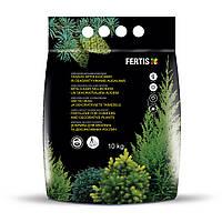 Добриво FERTIS для хвойних та декоративних рослин без хлору, 10 кг