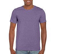 Футболкa фіолетова Gildan, Канада 35% котон 65% поліестер, щільність 153 г/м2