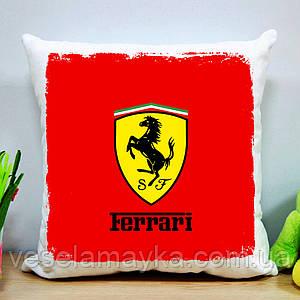 Подушка Ferrari