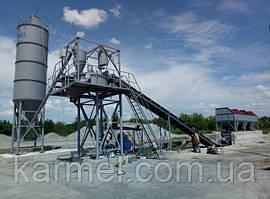 Бетоносмесительная установка БСУ-30К KARMEL г.Котовск (Одеская обл.)