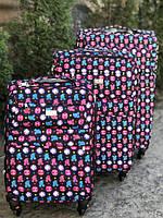 Комплект дорожных чемоданов из пластика разных размеров Kaiman 3 шт.  Амика-маркет. г. Хмельницкий. 5. 91% положительных отзывов. (457 отзывов).  Оптовую цену ... 66c37048a24