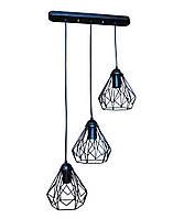 Светильник LOFT E27 1-150*100мм металл NL0538-3