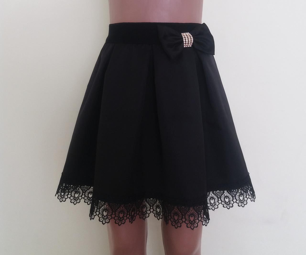 b035f5b1a43 Детская школьная юбка на резинке «Арка»