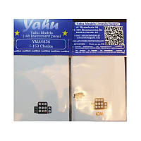 """Приборная панель для И-153 """"Чайка"""" 1/48 Yahu Models A4836"""