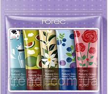 Набор кремов для рук с натуральными растительными экстрактами, Rorec