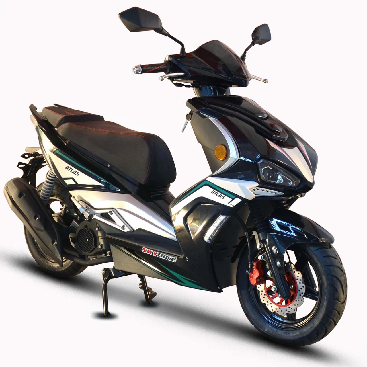 Скутер Skybike Atlas 150 Черный sdatl001