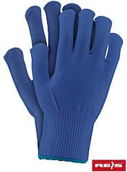 Защитные перчатки изготовленные из нейлона, снабженные резинкой RPOLY N