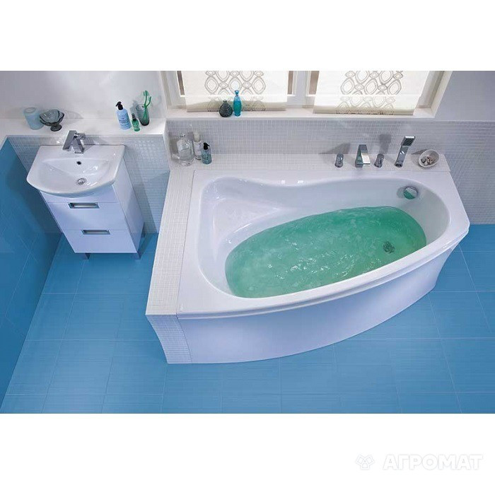 Cersanit Акриловая ванна Sicilia 160x100 см левая