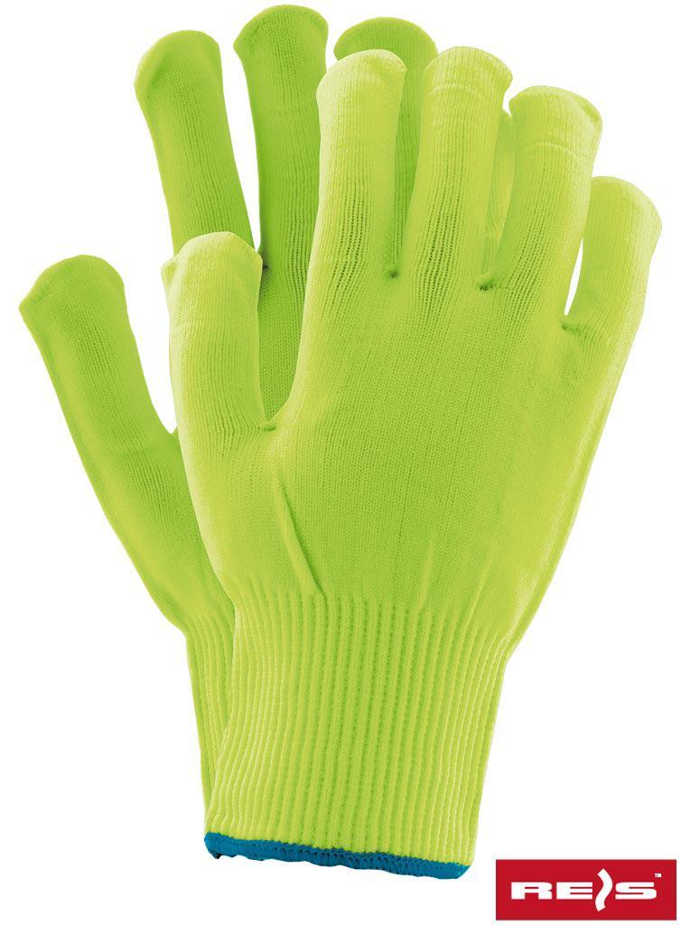 Захисні рукавички виготовлені з нейлону, забезпечені гумкою RPOLY SE