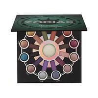 Набор теней и хайлайтеров BH Cosmetics Zodiac 24 цвета теней + 1 хайлайтер
