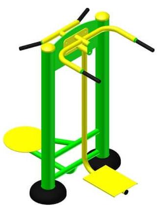 Тренажер для м'язів стегон + твістер