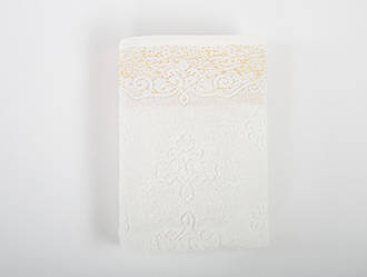 Полотенце Irya Jakarli - New Dora ekru молочный 50*90