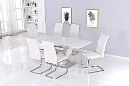 Стол обеденный модерн  Seattle  (Сиэтл) DT-9801    Evrodim,цвет  белый