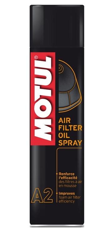 Спрей пропитка для воздушного фильтра Motul A2 Air Filter Oil Spray, 400мл
