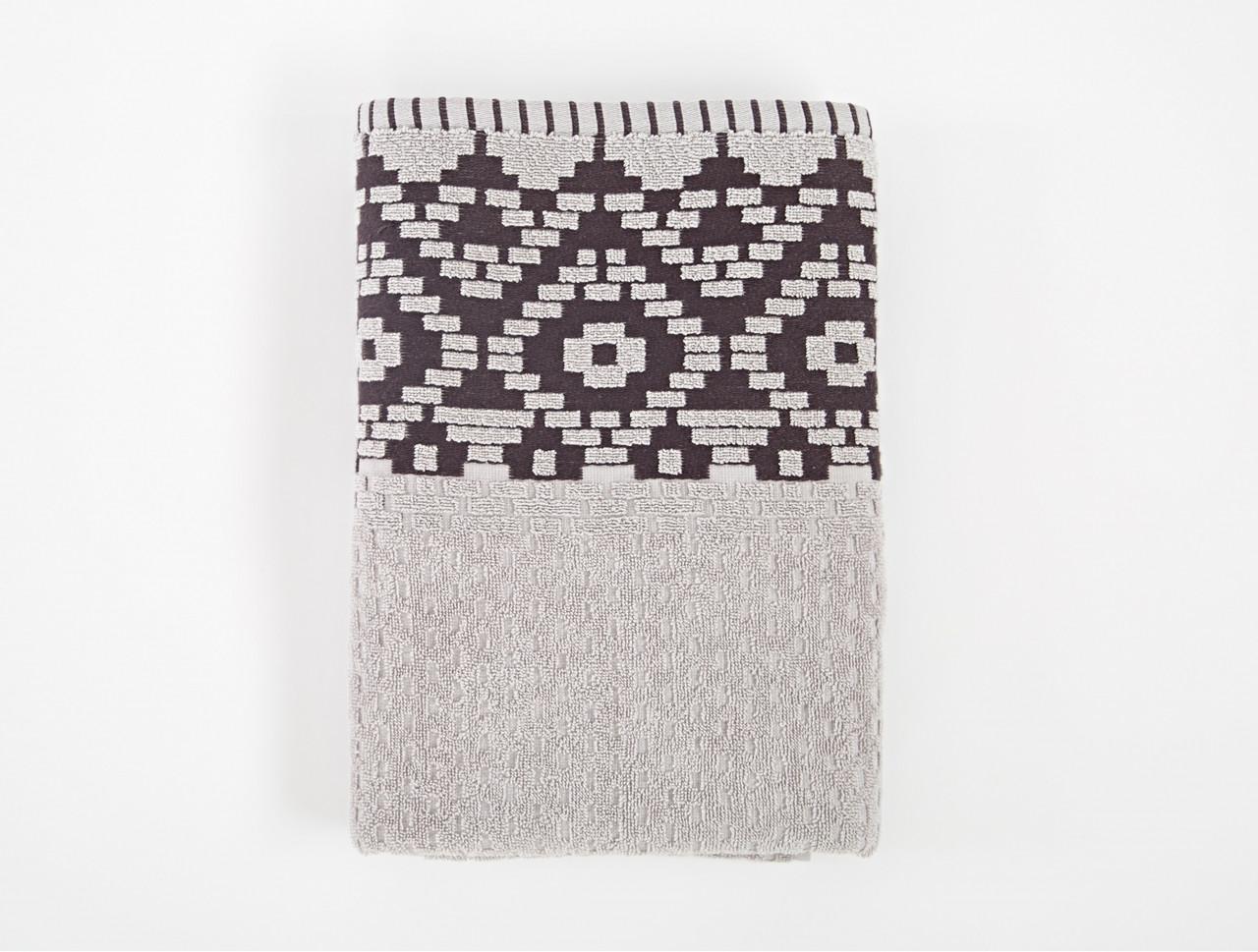 Полотенце Irya Jakarli - New Wall gri серый 50*90